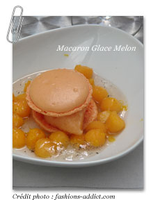 Macaron Glace Melon