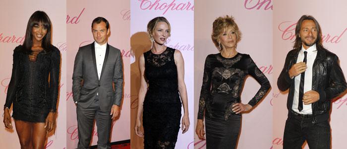 Bar Rafaeli, Uma Thurman, Jude Law, Jane Fonda, Bob Sinclar