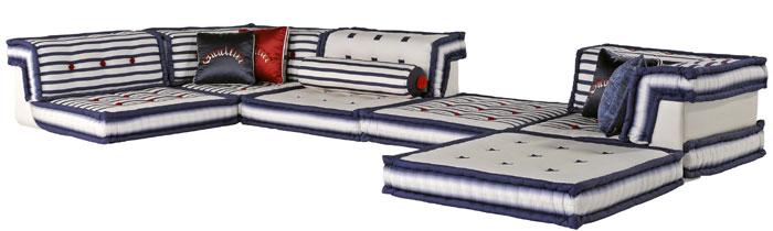 Jean paul gaultier dessine du mobilier pour roche bobois for Canape jean paul gaultier