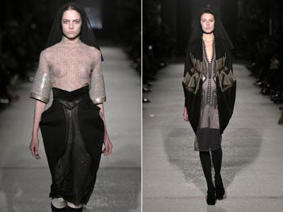 Collection présentée lors du Ferstival de la Mode d'Hyères 2011