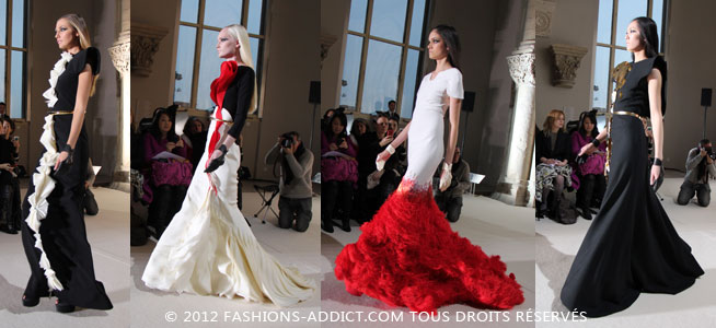 D�fil� Haute Couture St�phane Rolland