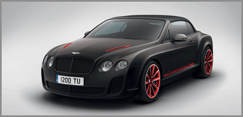 Bentley Continental Supersports Cabriolet ISR